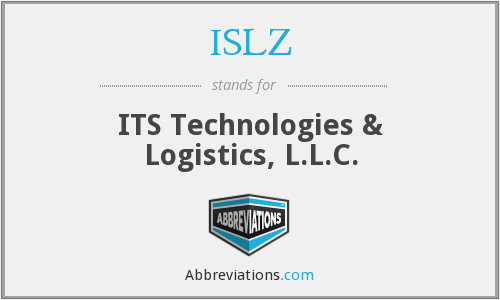 ISLZ - ITS Technologies & Logistics, L.L.C.