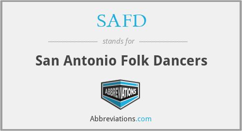 SAFD - San Antonio Folk Dancers