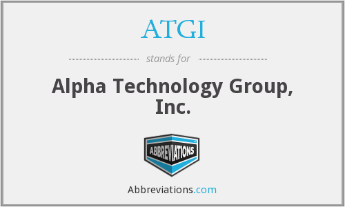 ATGI - Alpha Technology Group, Inc.