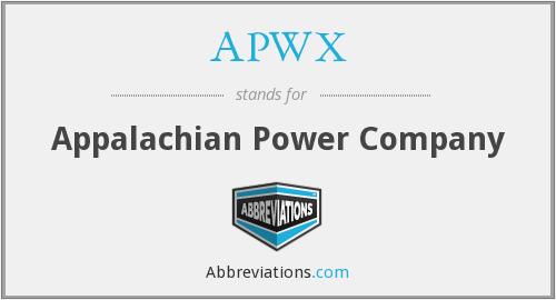 APWX - Appalachian Power Company