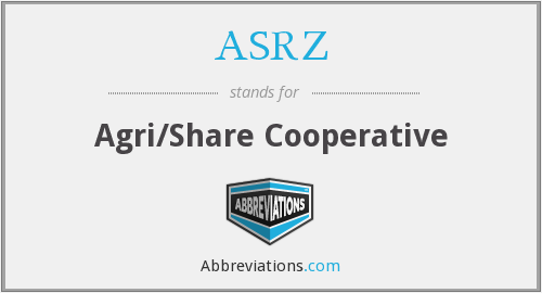 ASRZ - Agri/Share Cooperative