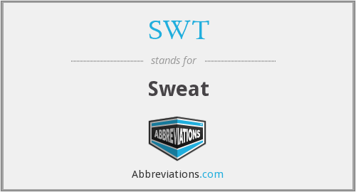SWT - Sweat