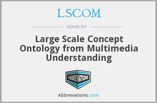LSCOM - Large Scale Concept Ontology from Multimedia Understanding