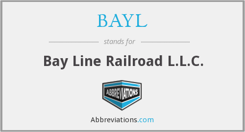 BAYL - Bay Line Railroad L.L.C.