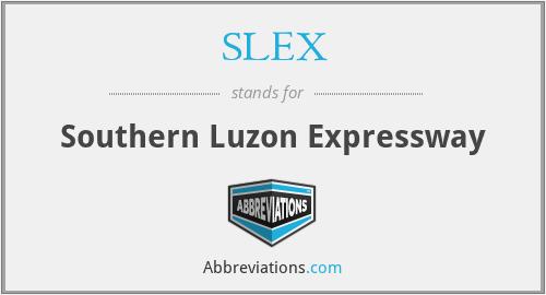 SLEX - Southern Luzon Expressway