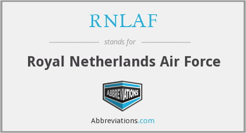 What does RNLAF stand for?