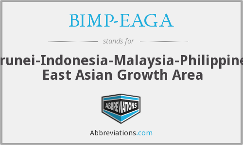 BIMP-EAGA - Brunei-Indonesia-Malaysia-Philippines East Asian Growth Area