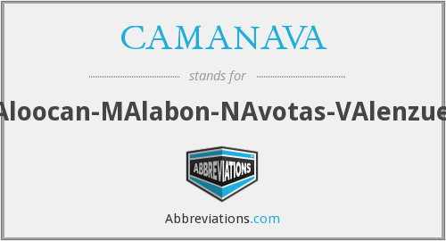 What does CAMANAVA stand for?