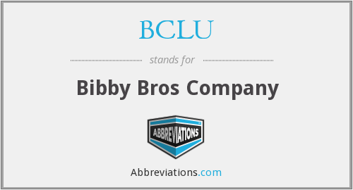 What does BCLU stand for?