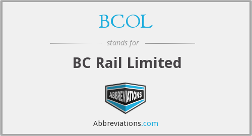 What does BCOL stand for?