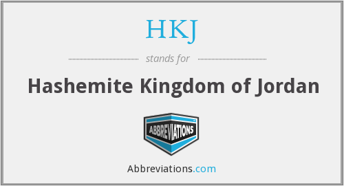 What does HKJ stand for?