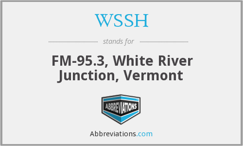 WSSH - FM-95.3, White River Junction, Vermont