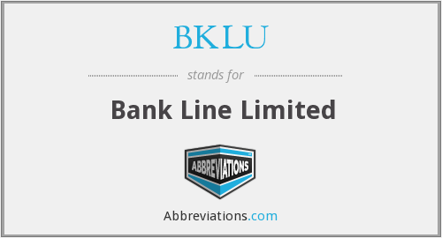 What does BKLU stand for?