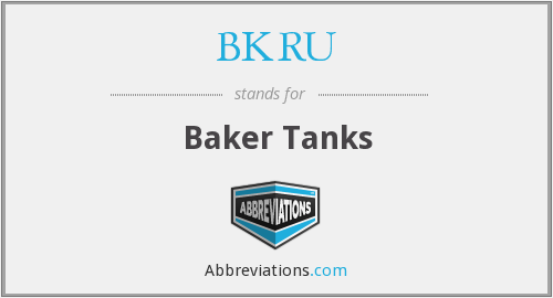 What does BKRU stand for?