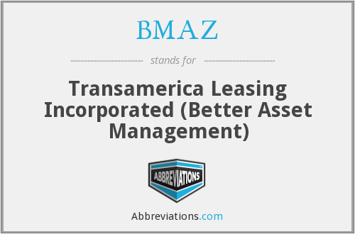 What does BMAZ stand for?