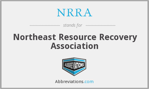 NRRA - Northeast Resource Recovery Association