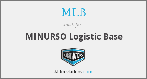 MLB - MINURSO Logistic Base