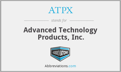 What does ATPX stand for?
