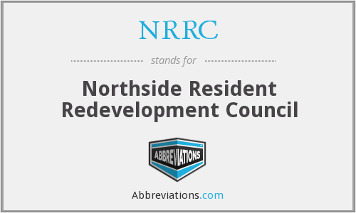 What does NRRC stand for?