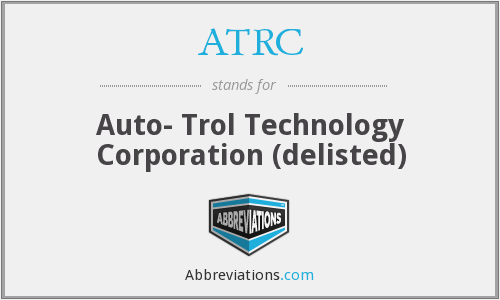What does ATRC stand for?