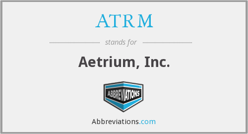 What does ATRM stand for?