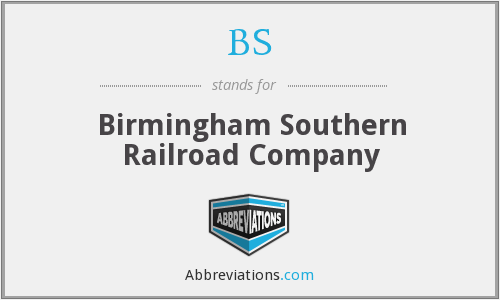 BS - Birmingham Southern Railroad Company