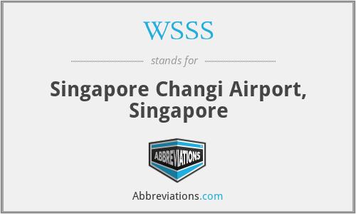 WSSS - Singapore Changi Airport, Singapore