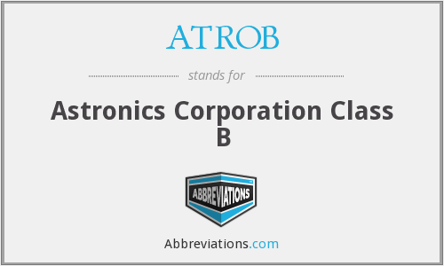 What does ATROB stand for?