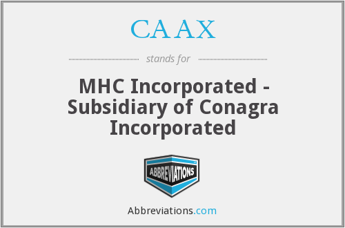 What does CAAX stand for?