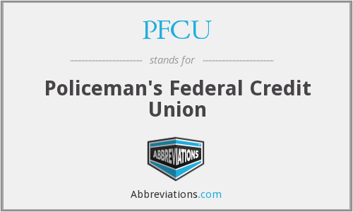 PFCU - Policeman's Federal Credit Union