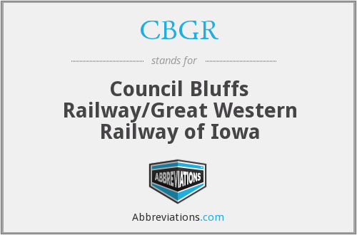 What does CBGR stand for?