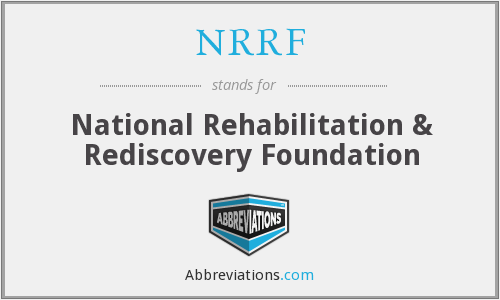 NRRF - National Rehabilitation & Rediscovery Foundation