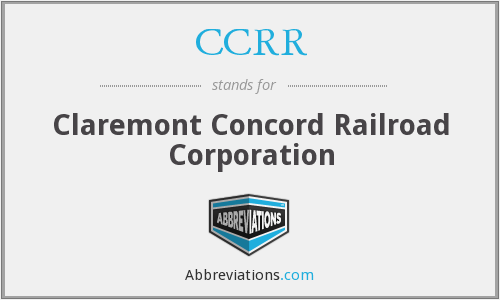 What does CCRR stand for?