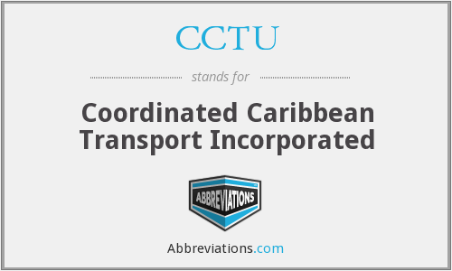 CCTU - Coordinated Caribbean Transport Incorporated