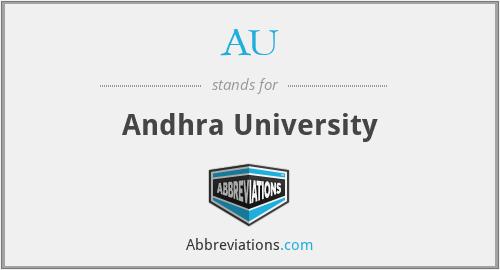 AU - Andhra University