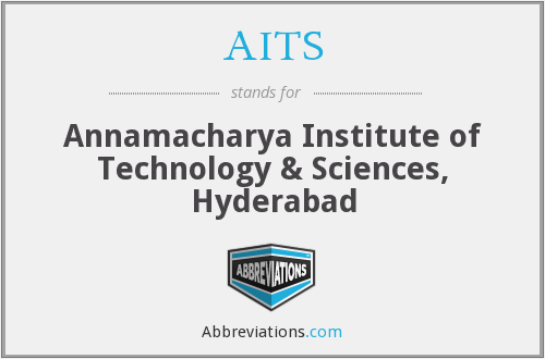 AITS - Annamacharya Institute of Technology & Sciences, Hyderabad