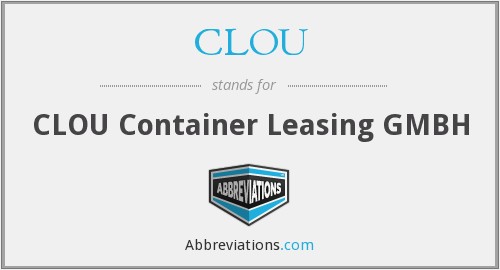 CLOU - CLOU Container Leasing GMBH