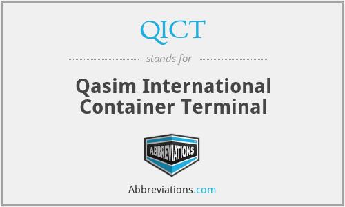 QICT - Qasim International Container Terminal