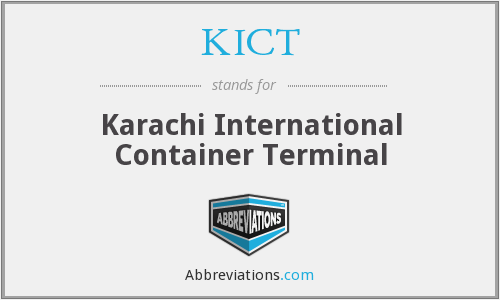 KICT - Karachi International Container Terminal