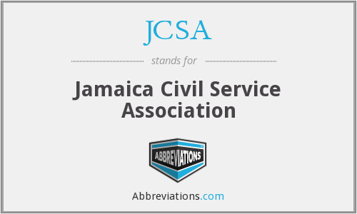 JCSA - Jamaica Civil Service Association