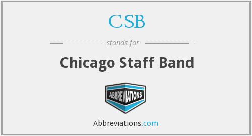CSB - Chicago Staff Band