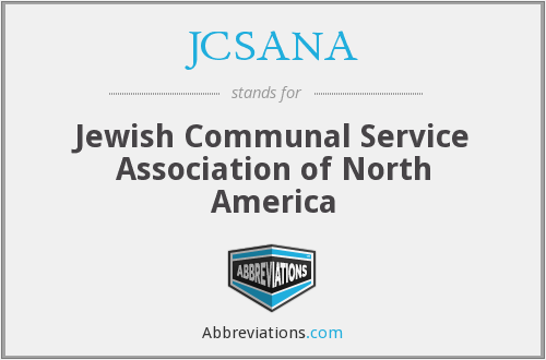 What does JCSANA stand for?