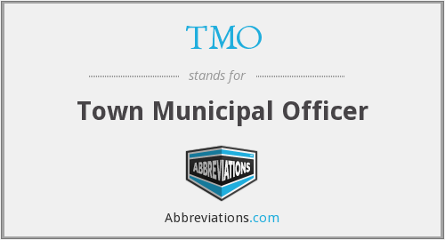 TMO - Town Municipal Officer