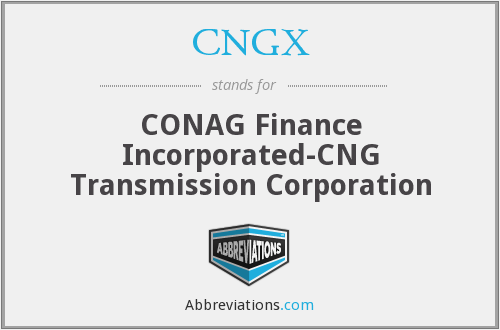 What does CNGX stand for?