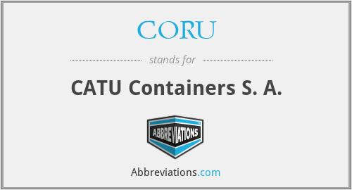 CORU - CATU Containers S. A.