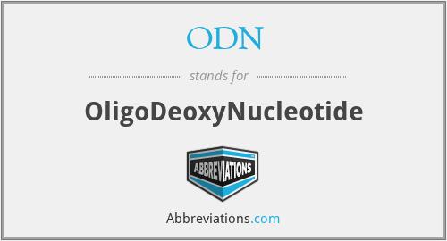 ODN - OligoDeoxyNucleotide
