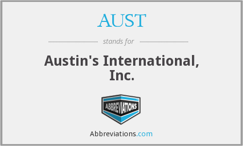 What does AUST stand for?