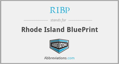 RIBP - Rhode Island BluePrint