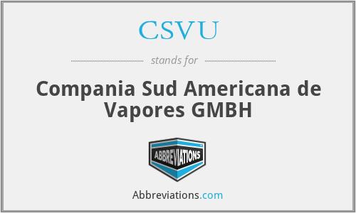 CSVU - Compania Sud Americana de Vapores GMBH