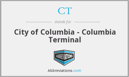 CT - City of Columbia - Columbia Terminal